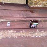 Nátěr falcované krytiny střechy