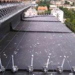 Instalace zábran proti holubům
