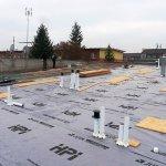 Instalace dvouplášťové falcované střechy