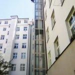 Nátěr konstrukce výtahové šachty