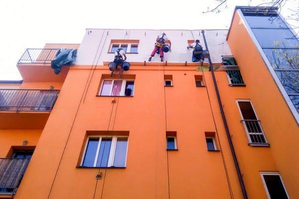 Oprava zateplení fasády